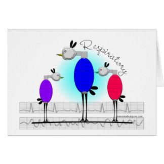 """Respiratory Therapy """"Ambu Birds"""" Gifts Card"""