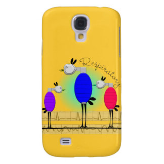 "Respiratory Therapy ""Ambu Birds"" Gifts Galaxy S4 Cover"