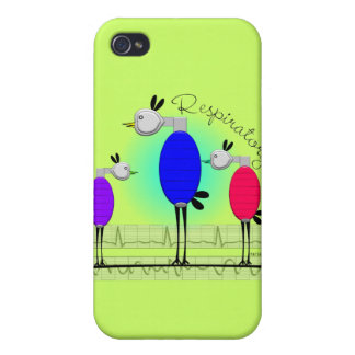 """Respiratory Therapy """"Ambu Birds"""" Gifts iPhone 4/4S Cover"""