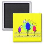 "Respiratory Therapy ""Ambu Birds"" Gifts Magnets"