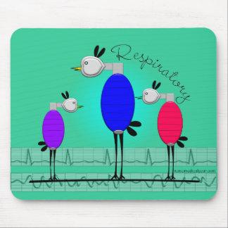 """Respiratory Therapy """"Ambu Birds"""" Gifts Mousepad"""