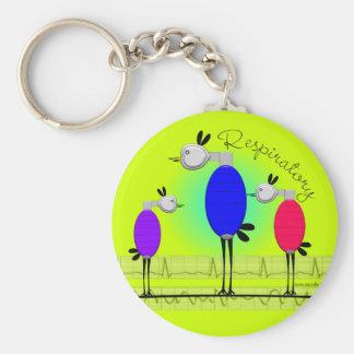"""Respiratory Therapy """"Ambu Birds""""  Key chain"""