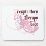 Respiratory Therapy Babe Mouse Pad