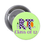 Respiratory Therapy Class of 2012 Pinback Buttons