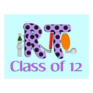 Respiratory Therapy Class of 2012 Postcard