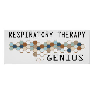 Respiratory Therapy Genius Poster