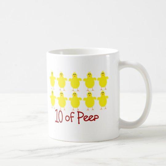 """Respiratory Therapy Gifts """"10 of PEEP""""  Funny Coffee Mug"""