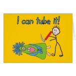 """Respiratory Therapy Gifts """"I Can Tube it!"""" Cards"""