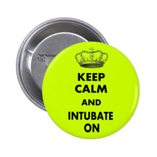"""Respiratory Therapy Gifts """"Keep Calm and..."""" Pins"""