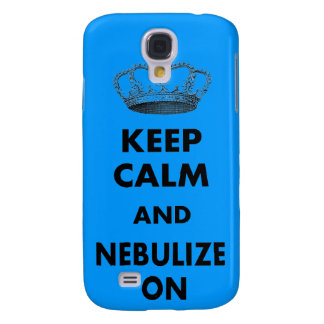 """Respiratory Therapy Gifts """"Keep Calm and..."""" Samsung Galaxy S4 Case"""