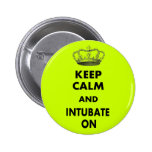 "Respiratory Therapy Gifts ""Keep Calm and..."" Pins"