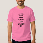 """Respiratory Therapy Gifts """"Keep Calm and..."""" Shirt"""