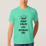 """Respiratory Therapy Gifts """"Keep Calm and..."""" T-shirts"""