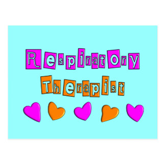 Respiratory Therapy Gifts Post Cards