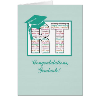 Respiratory Therapy Graduation Congratulations, RT Card