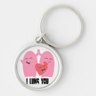 Respiratory Therapy I Lung You! Lungs Keychain RT