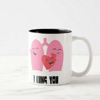 Respiratory Therapy I Lung You! lungs Mug RT