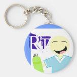 Respiratory Therapy Oxygen Keychain RT