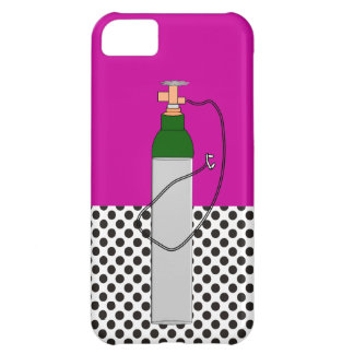 Respiratory Therapy Oxygen Tank Case For iPhone 5C