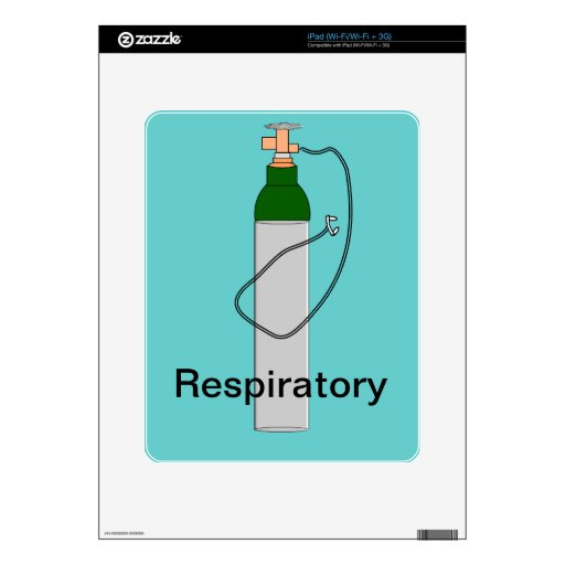 Respiratory Therapy Oxygen Tank Design Skin For iPad