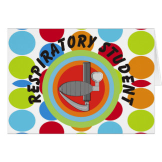 Respiratory Therapy Student Gifts Cards