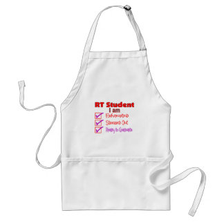 Respiratory Therapy Student--Stressed Out! Adult Apron