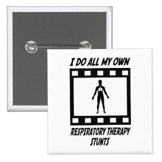 Respiratory Therapy Stunts Pinback Button