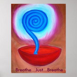 Respire apenas respiran el poster dominante