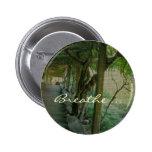 Respire/jardín japonés - botón pin