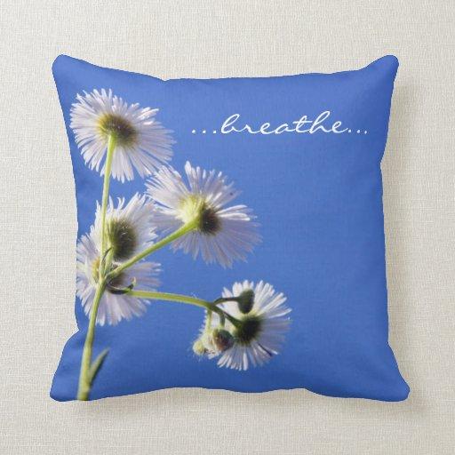 Respire la almohada de la inspiración