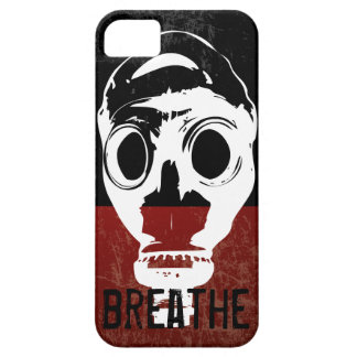 """respire"" la careta antigás iPhone 5 Case-Mate cárcasas"