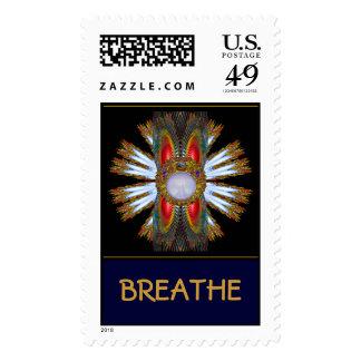 Respire la serie de la campaña sello