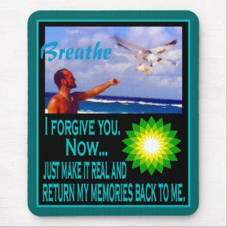 Respire la serie del perdón tapetes de ratones