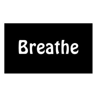 Respire Tarjetas De Visita