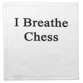 Respiro ajedrez servilleta de papel
