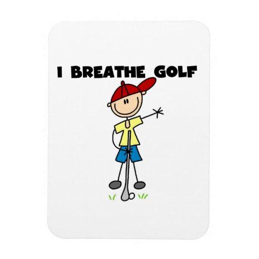 Respiro golf imanes rectangulares