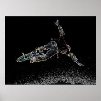 Resplandor 2, Copyright Karen J Williams de BMX Poster