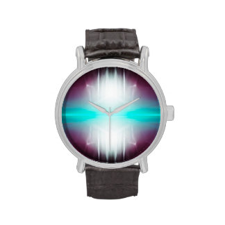 Resplandor abstracto relojes de mano