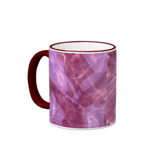 Resplandor ahumado marrón taza a dos colores