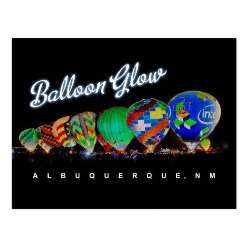 Resplandor Albuquerque, nanómetro del globo del Postales