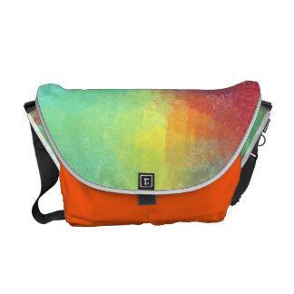 Resplandor anaranjado bolsa de mensajeria