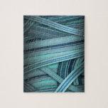 resplandor azul de la aguamarina puzzle con fotos