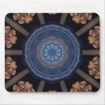 Resplandor azul Mousepand Alfombrillas De Ratón