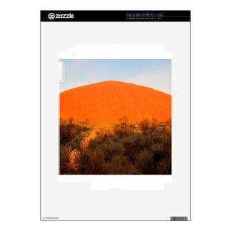 Resplandor de Ayres de la roca Skin Para El iPad 2