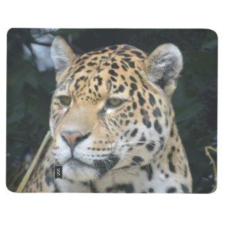 Resplandor de Jaguar Cuaderno Grapado