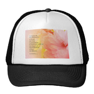 Resplandor de la flor de cerezo del rezo de la gorras
