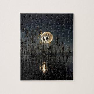Resplandor de la luna rompecabezas con fotos