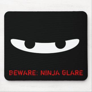 ¡Resplandor de Ninja! Tapetes De Raton