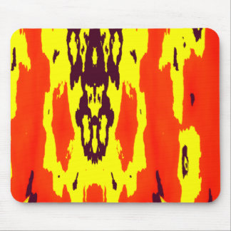 Resplandor de Rorschach Tapetes De Ratón