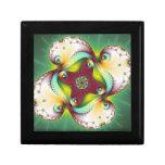 Resplandor de Subltle - arte del fractal Caja De Joyas
